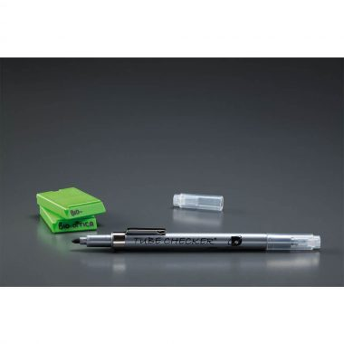Solvent resistant marking pen Tube Checker black