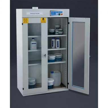 Aspirated chemical cabinet – 1200 mm